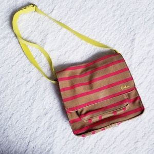 NWOT Boden Striped Crossbody Purse